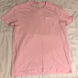 Abercrombie & Fitch Pink muscle tee